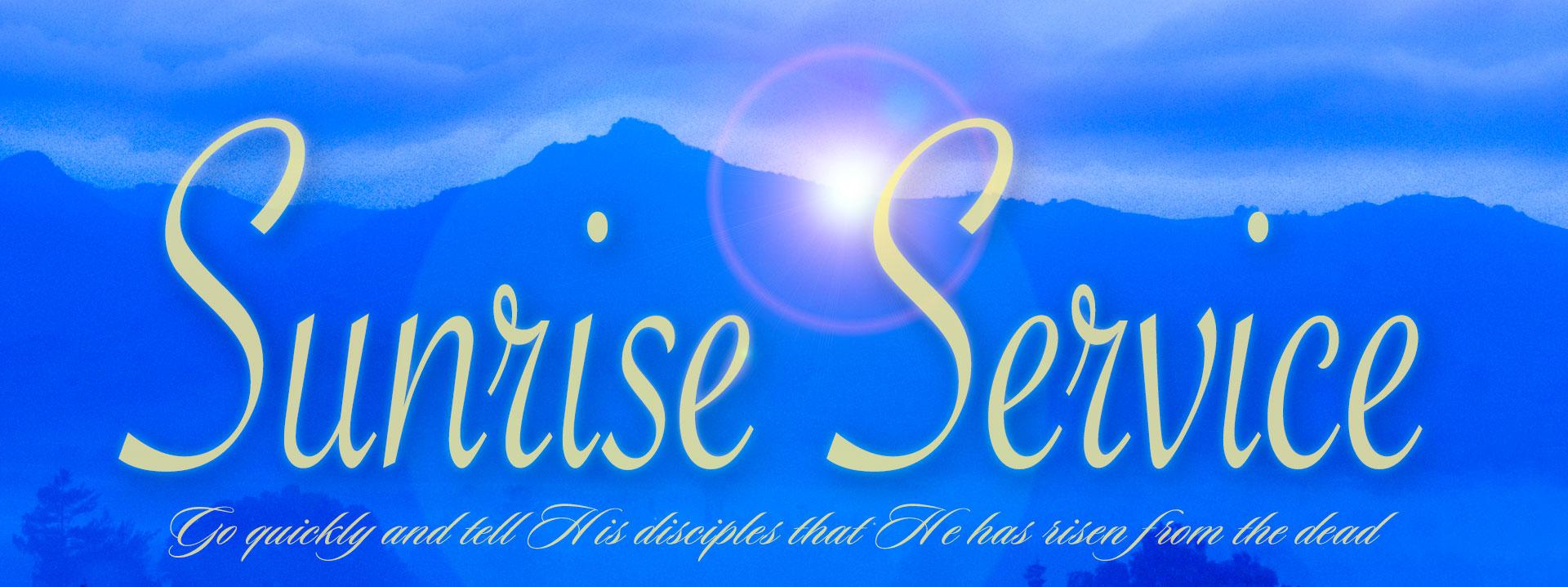 Grace Bible Church of Hollister Sunrise Service - Grace ...