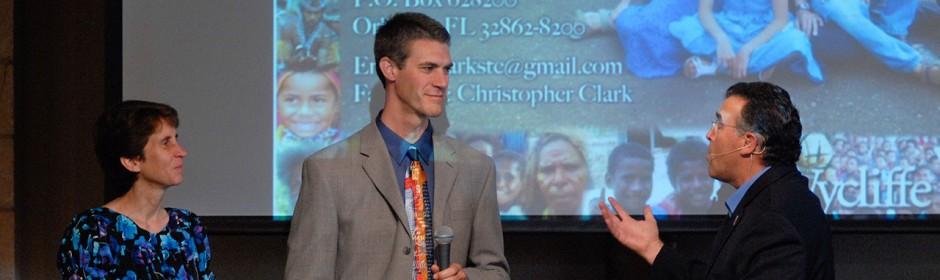 Wycliffe Missionaries - Christopher & Darlene Clark