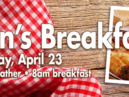 Men's Breakfast 2016