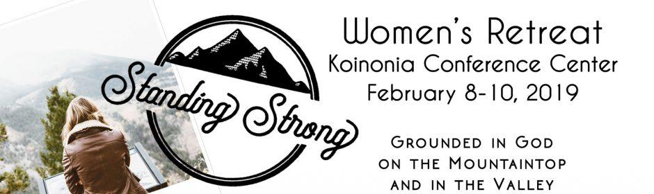 women's retreat 2019 banner